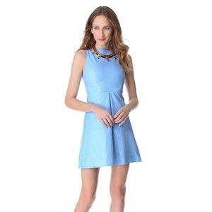 NWT $795 100% Leather Alice + Olivia Dress